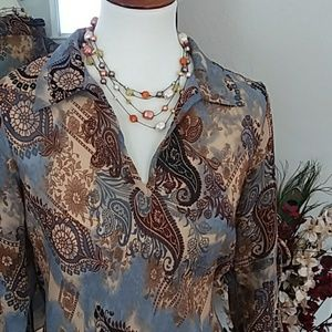 Beautiful Boho Shirt/Tunic